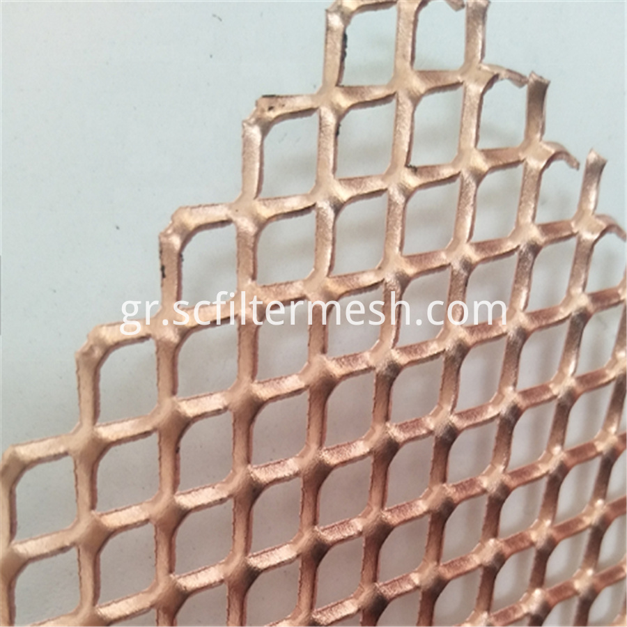 Expanded Copper Mesh