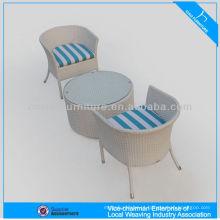 Mobiliário de jardim de lazer mesa de café e cadeira