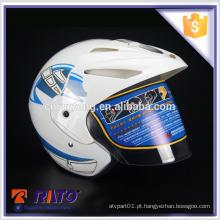 Handsome white full-face motocicleta capacete preço de fábrica no atacado
