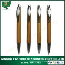 Экологичная бамбуковая шариковая ручка для школьного использования