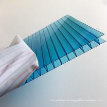 policarbonato panel --Graza A Lexan doble pared hueco hoja de policarbonato