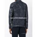 Casaco denim oversized preto lavado especial mais tamanho blazer denim