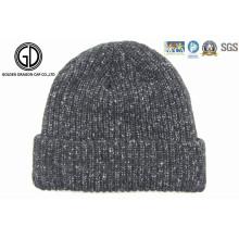 Wholesale Cheap Acrylic Custom Jacquard Knitted Warm Winter Beanie