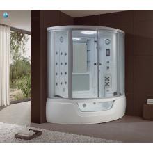 Cabina de ducha de vapor interior controlado por ordenador de lujo chino