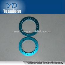 Rondelles en aluminium anodisé personnalisées CNC