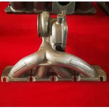 Hola piezas de motor de hierro dúctil de Ni colector de escape