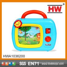Engraçado Bebê Wind up desenhos animados Brinquedo brinquedos musicais tv bebê