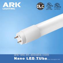 Pour le marché américain 4ft Nano plastique LED tube 18w 110lm / w plug and play