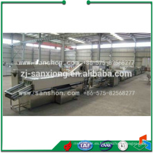Línea de producción de setas en escabeche