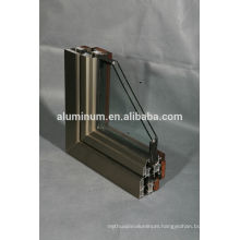 Wooden Aluminium powde coating Profiles