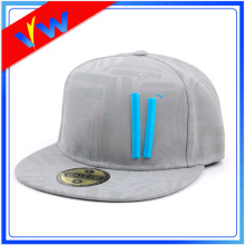 Custom 3D Embroidery Fitted Snapback Cap