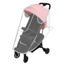 Stroller Rain Cover Baby Carriage Transparent Raincoat Windproof and Waterproof Umbrella