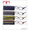 Lunettes de lecture unisex avec poche disponible en emballage d'affichage (MRP21675)