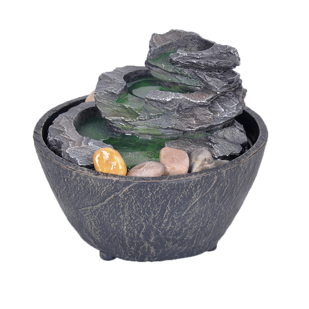 Table Fountain  Slimy Stone