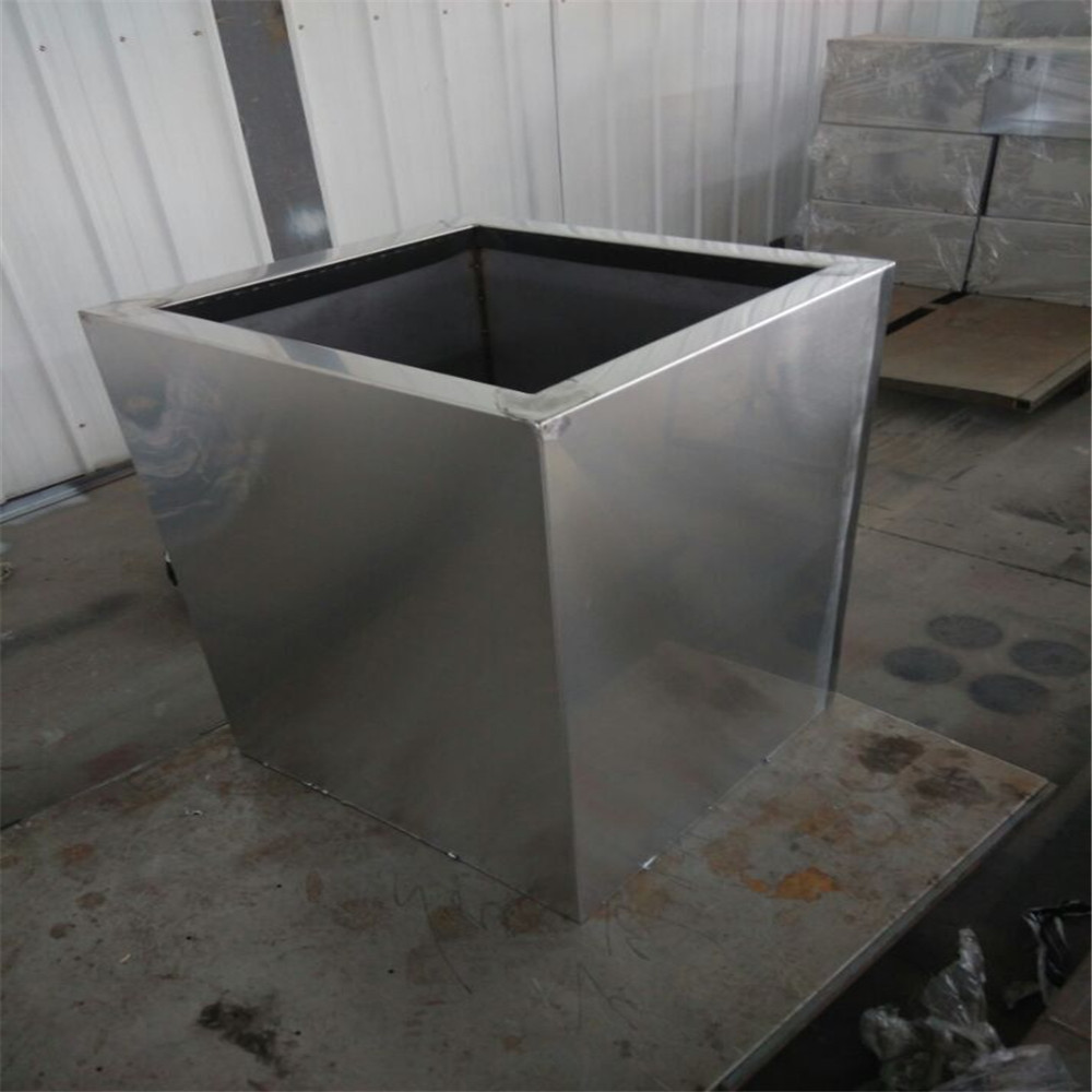 Outdoor Stainless Steel Flower Pots