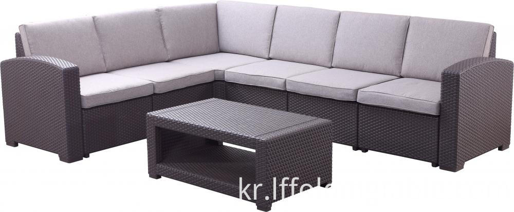 5 Seaters L Shape Sofa