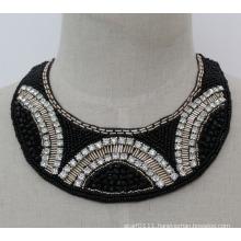 Lady Fashion Charm Crystal Chunky Necklace Choker (JE0130)