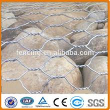 Cesta de gabião de pedra / paredes de retenção de gabião / instalação de cesto de gabião