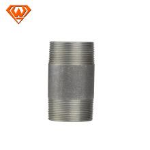Mamelon de fil de mamelon de tuyau d'acier au carbone