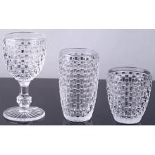 Питьевая чашка и кубок из хрусталя ручной работы