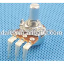 16K6 Vertical type 16MM linear taper 5k ohm volume slide potentiometer
