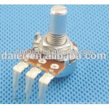 16K6 Vertical tipo 16 MM linear cone 5k ohm volume de slides potenciômetro