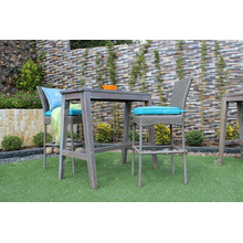 2017 Brand Leader PE Rattan Bar Set For Outdoor Garden Wicker Furniture