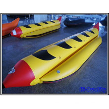 2015 Mais atraente barco inflável para 5 pessoas Water Sled Banana Boat