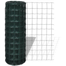 Green PVC Coated Euro Fence Welded Wire Mesh Fence Garden Fence Euro Wire Fence
