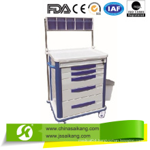 FDA Certification Durable Durable Anaesthetic Cart
