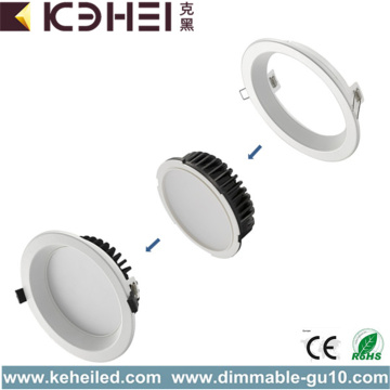 Downlights exteriores LED de 6 pulgadas, color blanco, ajustables