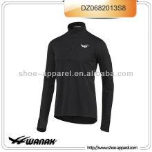 Athletic men long sleeve running wear oeko-tex