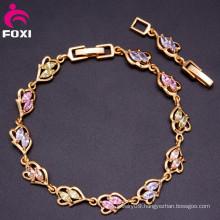 2016 Hot Sale Dubai Gold Fashion Charm 18k Bracelet