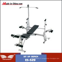 Ensembles multifonctionnels de luxe standard de banc de gymnastique à la maison (ES-529)