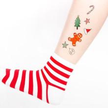 2017 fête de Noël tatouage temporaire délicate conception d'art