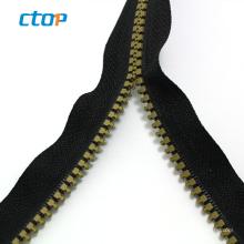 guangzhou factory green close end resin zipper