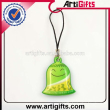Cute design soft pvc anime phone strap