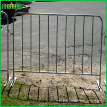 Temporary fence and traffic safety crowd control barriers