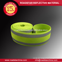 Standard quality safety lycra reflective webbing