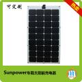 Panel solar flexible de alta tecnología de la nave del barco del coche