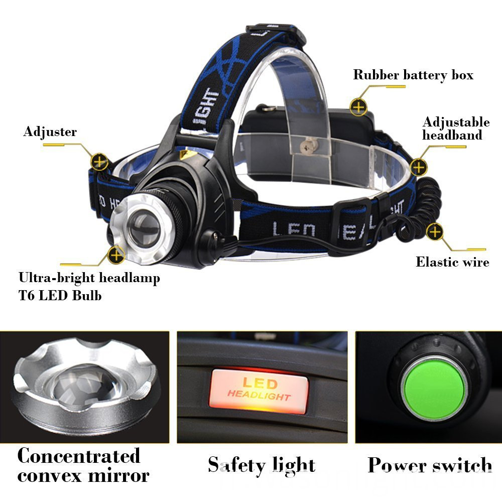 Focusable Led Headlamp
