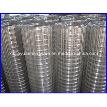 Tissu métallique soudé en tôle plate en galvanisé et électro galvanisé