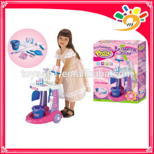 ABS cleaning set trolley cart Sanitary ware toys for kids