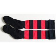 Long Custom Cotton Soccer Socks