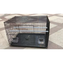 Foldable Metal Steel Wire Metal Bird Cage Pet Kage For Throstle