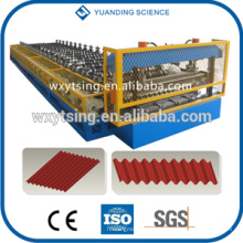 Passed CE and ISO YTSING-YD-0666 Corrugated Manual Roof Panel Tile Making Machine
