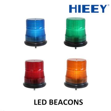 Luces de advertencia llevadas ambarinas del faro 10-30V, luz impermeable del faro del estroboscópico / luz de advertencia de la policía / luces llevadas vehículo de la emergencia