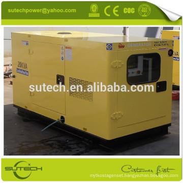 Factory price 35Kva silent diesel generator, powered by Cummins 4BT3.9-G1/2 engine