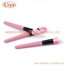 Лучшее качество макияж кисти с пластмассовой ручкой цвета