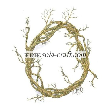Artificial Circle Vine For The Chritmas Wedding Decor 38cm
